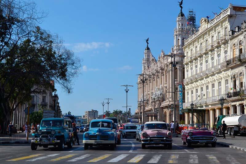 キューバの新市街地