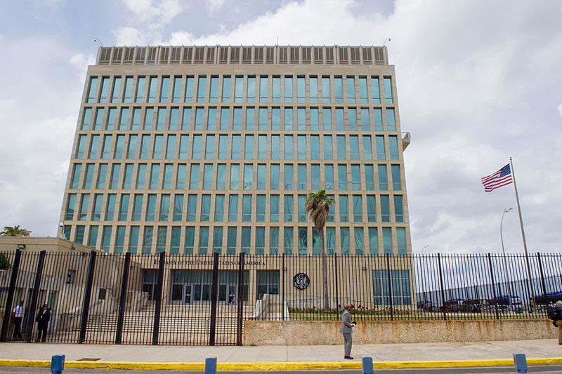 キューバのアメリカ大使館