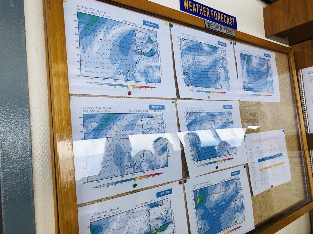 海上気象情報