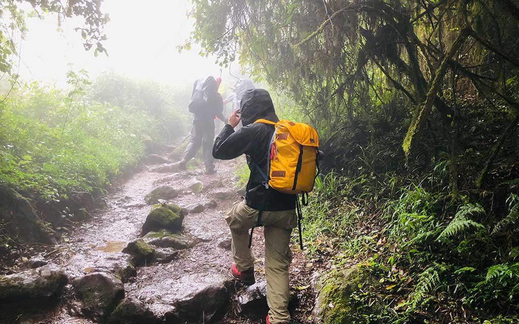 キリマンジャロ登山中