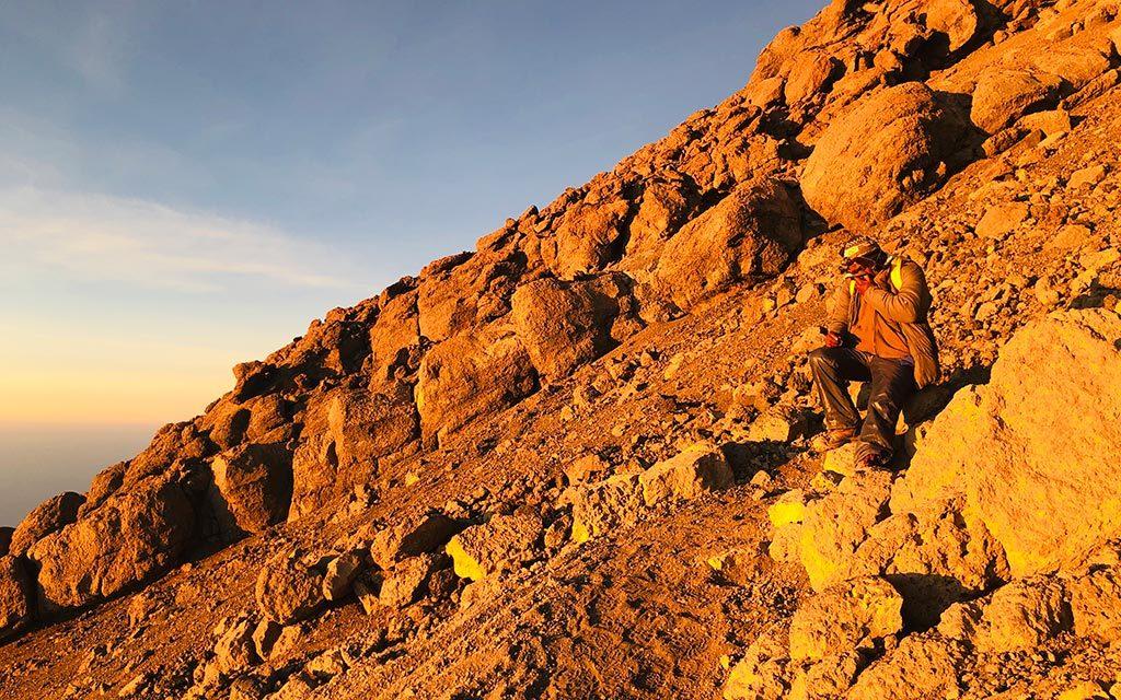 キリマンジャロの岩