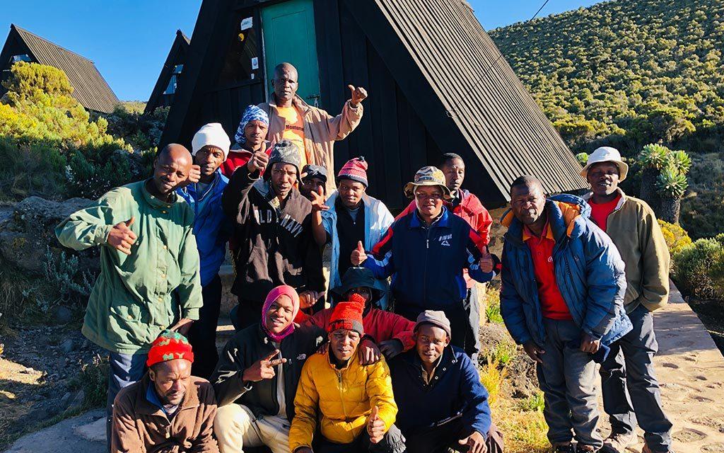 キリマンジャロ登山のポーター