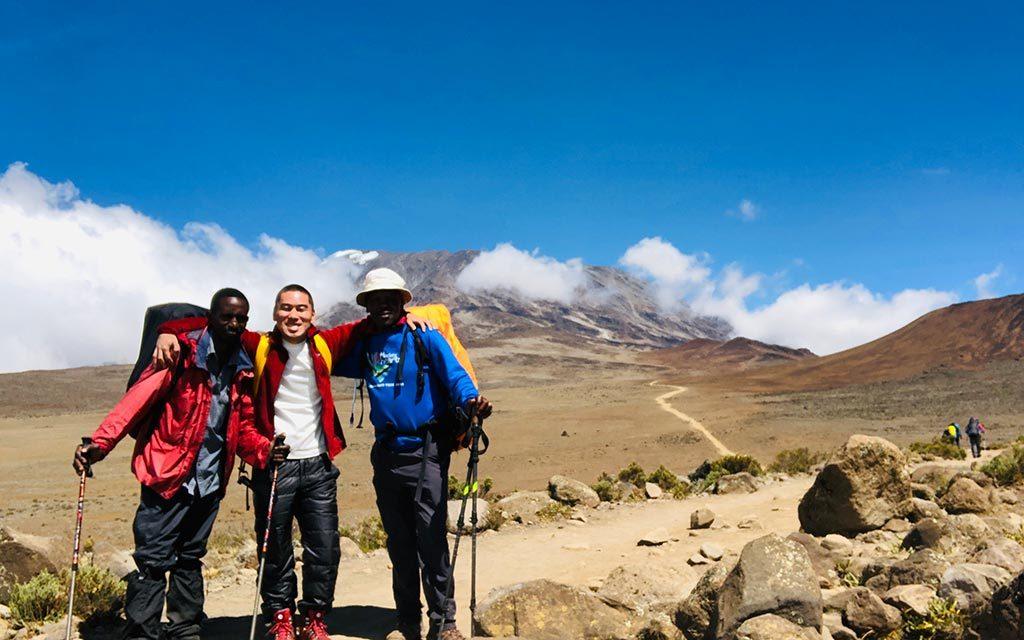 キリマンジャロ登山の仲間