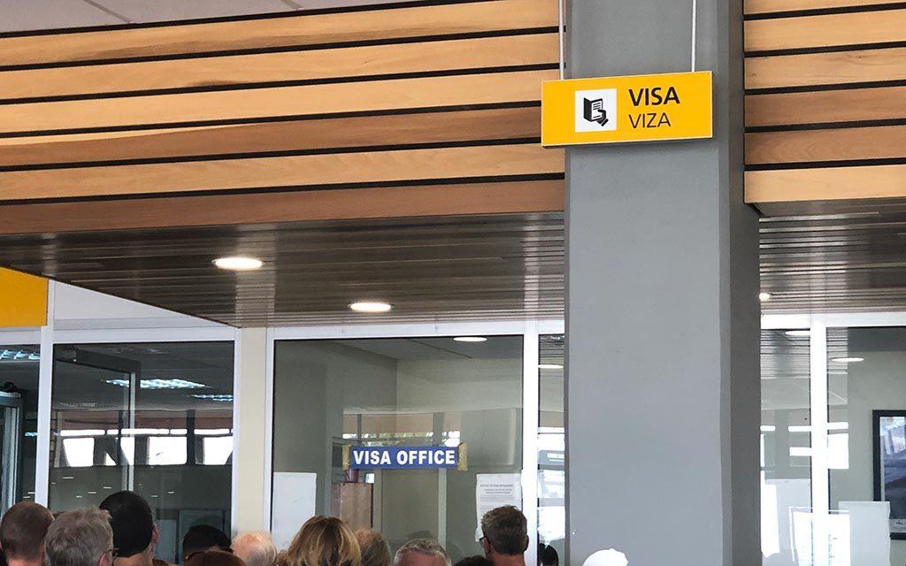 タンザニア空港ビザ