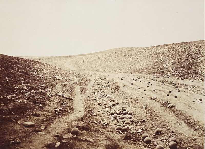 世界初の戦争写真