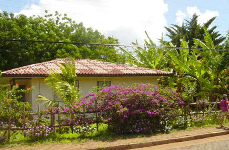 イースター島の住宅