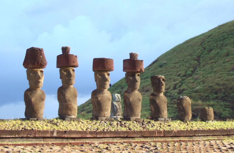 イースター島を復活させた世界ふしぎ発見