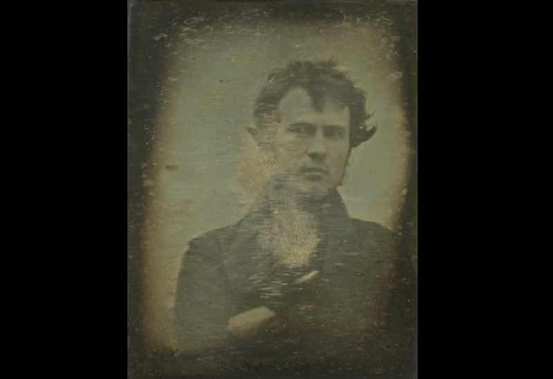 世界最古の自撮り写真