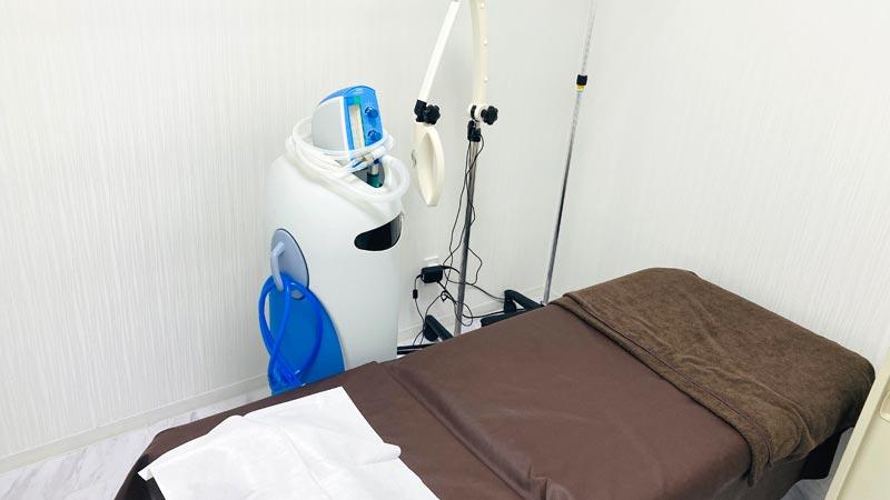 目の下のたるみ手術の部屋